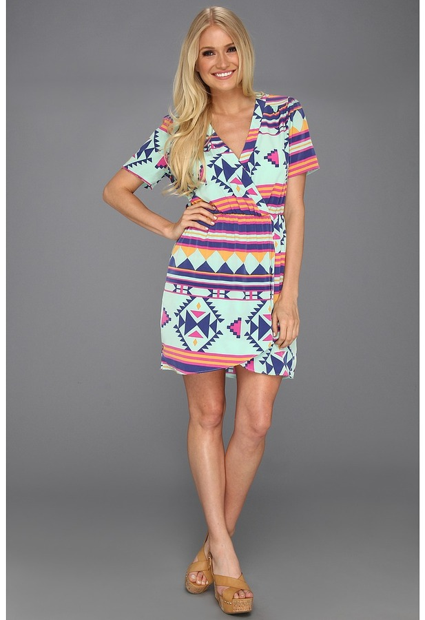 Gabriella Rocha Opal Dress (Aztec Print) - Apparel