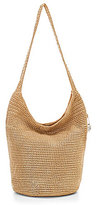The Sak Palm Springs Metallic Crochet Hobo Bag