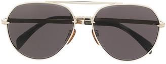 David Beckham DB 7037 aviator sunglasses