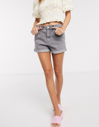 Pimkie mom shorts in light grey