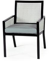 Koverton Parkview Armchair, White Wicker