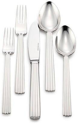 Georg Jensen Five-Piece Bernadotte Stainless Steel Flatware