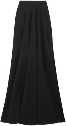 Alaia Wool-blend Crepe Maxi Skirt