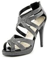 Caparros Priscilla Open Toe Canvas Sandals.