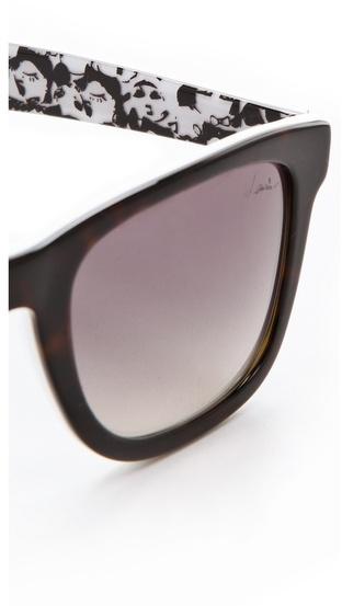Lanvin Square Frame Sunglasses