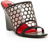 Charles Jourdan Lennox Wedge Sandal