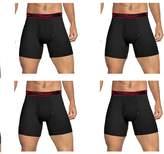 Champion Mens Elite SmartTemp Vapor Tech-Boxer Briefs, 4-Pack (XL- )