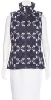 The North Face Batik Print Puffer Vest