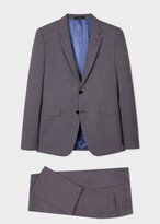 Thumbnail for your product : Paul Smith The Kensington - Men's Grey Puppytooth Wool Suit