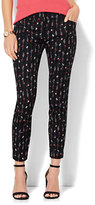 New York & Co. The Audrey Ankle Pant - Black Floral