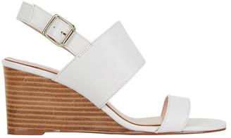 Jane Debster Diana White Glove Sandal