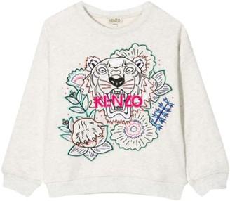 Kenzo Kids Sweatshirt With Embroidery