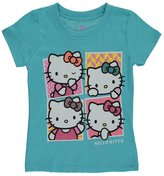 "Hello Kitty Little Girls' Toddler ""Pose Squares"" T-Shirt"