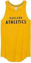 PINK Oakland Athletics Bling Rib Neck Tank