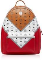 Mcm M Move Visetos Stark Backpack