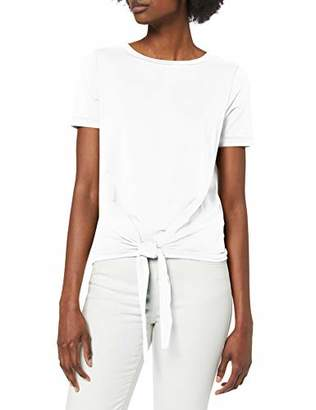 Object Women's Objstephanie Maxwell S/s Top Noos T-Shirt, White, 12 (Size: Medium)