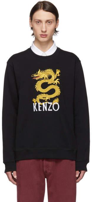 ae2760d0 Black Limited Edition Dragon Sweatshirt