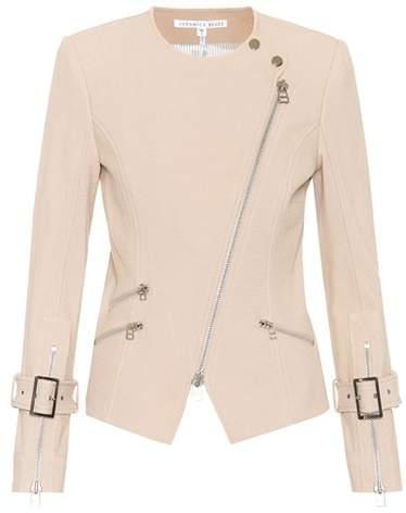 Veronica Beard Jordan Moto Dickey jacket