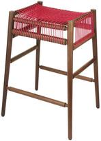 H Furniture - Loom Bar Stool Walnut - Red