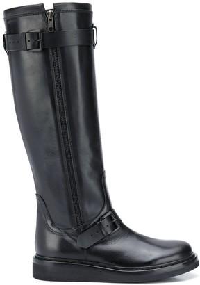 Ann Demeulemeester Buckle Detail Boots