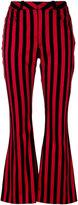 Marques Almeida Marques'almeida striped flared trousers