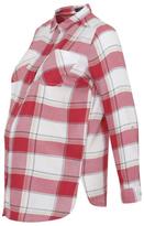 George Maternity Check Print Shirt