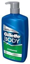 Gillette Hydrator Body Wash Pump - 29.2 oz