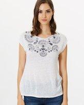 Jag Embroidery Print Tee