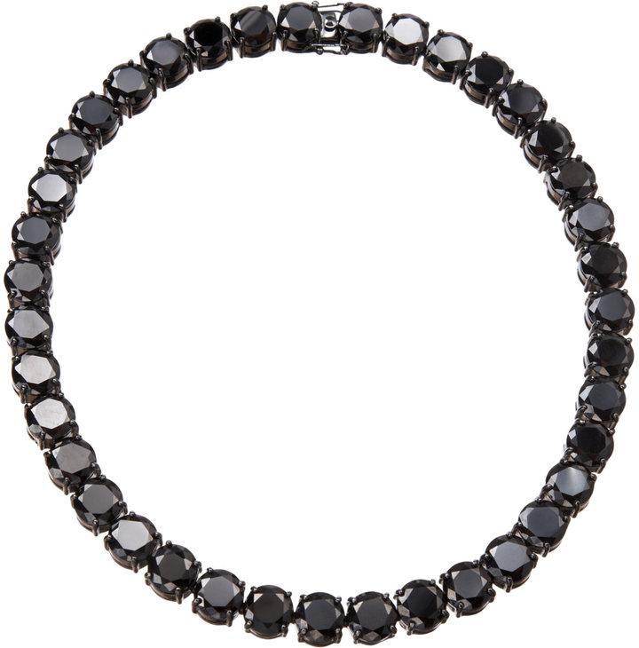 Fallon Black Crystal Classic Collar