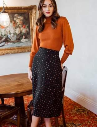 Ever New Charlie Wrap Split-Front Midi Skirt
