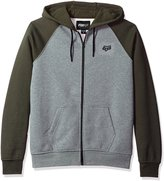 Fox Racing Fox Men's Legacy Zip-Up Fleece Hoodie Heather Gray 2XL