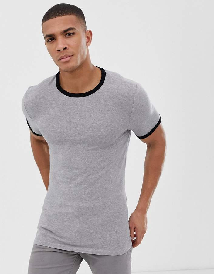 4a350ccf Asos Muscles T-shirt Men - ShopStyle