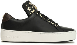 MICHAEL Michael Kors Studded Leather Sneakers