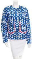 Kenzo Printed Silk Jacket
