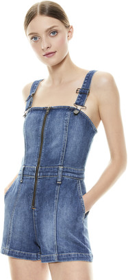 Alice + Olivia Gorgeous Overall Short