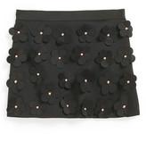 Milly Minis Floral Skirt (Big Girls)