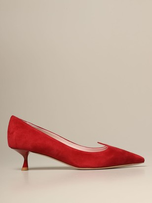 Roger Vivier I Love Vivier Pumps In Suede