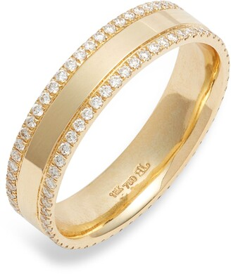 Bony Levy Kiera 18K Gold & Diamond Eternity Ring