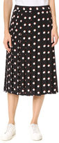 Marc Jacobs Long Box Pleat Skirt