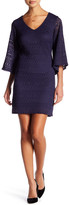 Laundry by Shelli Segal Lace Bell Sleeve Dress (Petite)