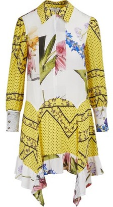 Ganni Printed shirt dress