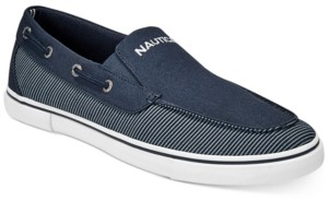 Nautica Men's Everyday Casual Canvas Boat Shoes Men's Shoes