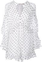 Zimmermann polka dot playsuit