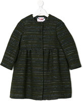 Il Gufo collarless coat - kids - Cotton/Acrylic/Polyester/other fibers - 6 yrs