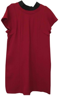 Marni Red Wool Dresses