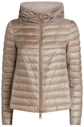 Herno Panelled Quilted Jacket