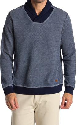Tommy Bahama Agave Azul Shawl Collar Pullover
