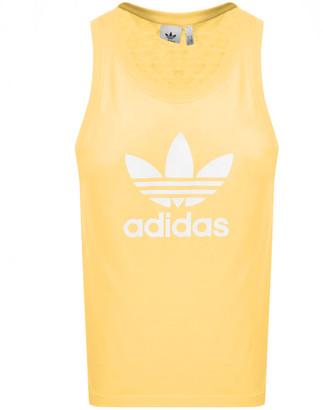 adidas Trefoil Vest Yellow