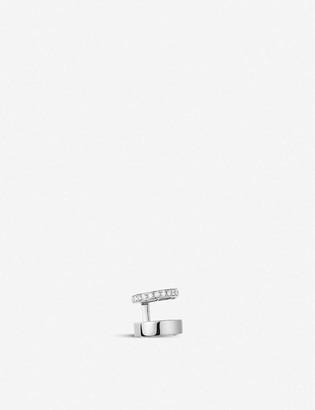 Repossi Berbere Module 18ct white-gold and diamond pave ear cuff