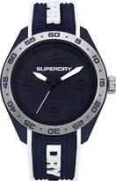 Superdry Men's 'Navigator Pop' Quartz Plastic and Silicone Casual Watch, Color: (Model: SYG213U)